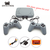 8 Bit Classic Video Game Console With 424 Games Support AV Out Put Family TV Video