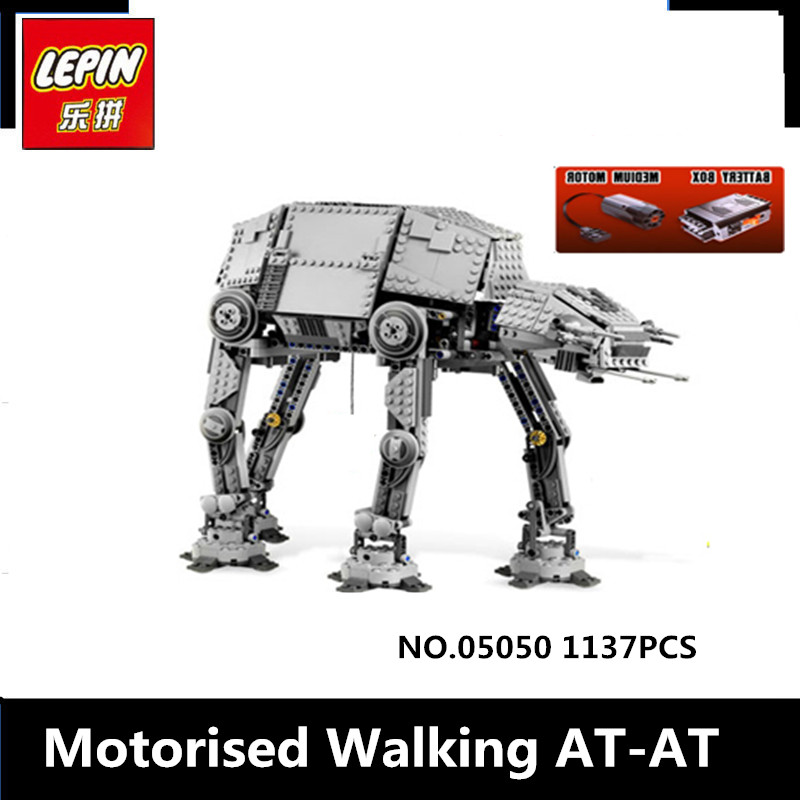 IN STOCK NEW LEPIN 05050 1137pcs AT-AT the robot Model Building blocks Bricks Classic Compatible 10178 Boys Gift concept driven 2sc0435t 2sc0435t2a0 17 new stock