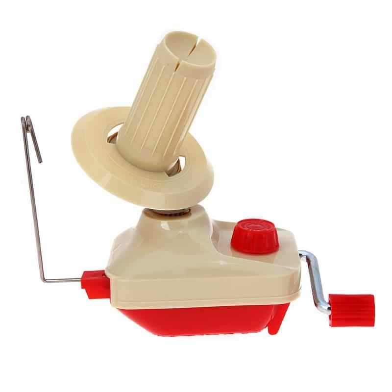 Sewing Machine Swift Furling for Fiber Ball String Yarn Wool Winder Holder Hand Operated Wire Winder Machine Embroidery Tools
