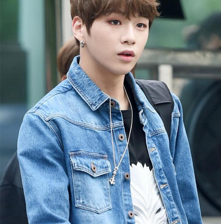 New kpop wanna one kang daniel the same loose handsome wolf head new kpop wanna one kang daniel the same loose handsome wolf head couple summer short sleeve tshirt in t shirts from womens clothing accessories on stopboris Images
