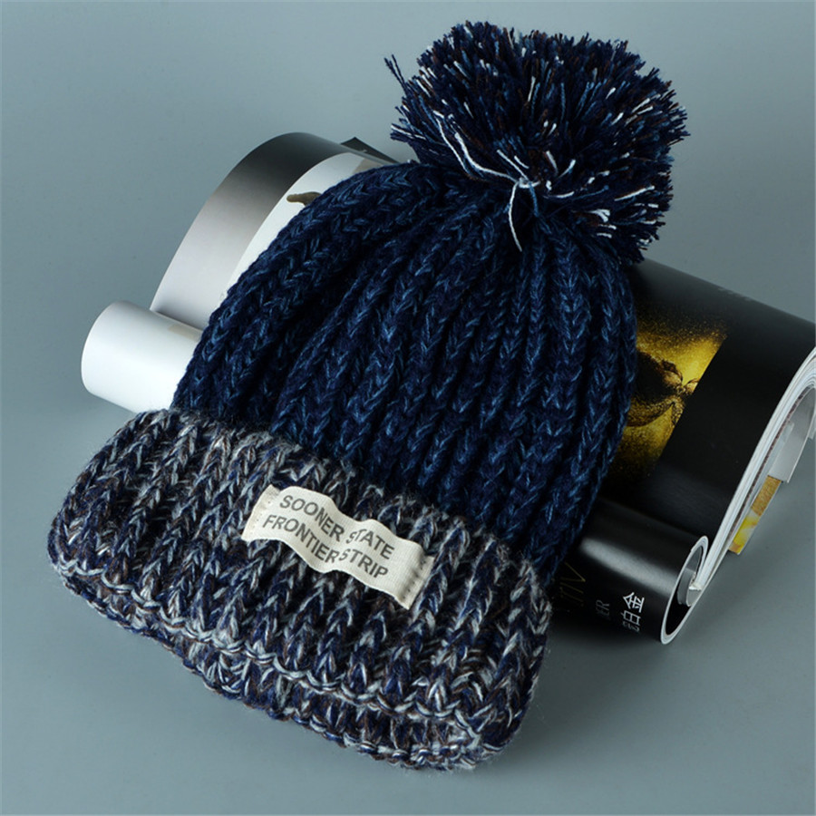 Beanies Knit Winter Hats For Men Women Beanie Men's Winter Hat Caps Skullies Bonnet Warm Cap A232 туалетная вода pour elle elegant 30 мл lacoste