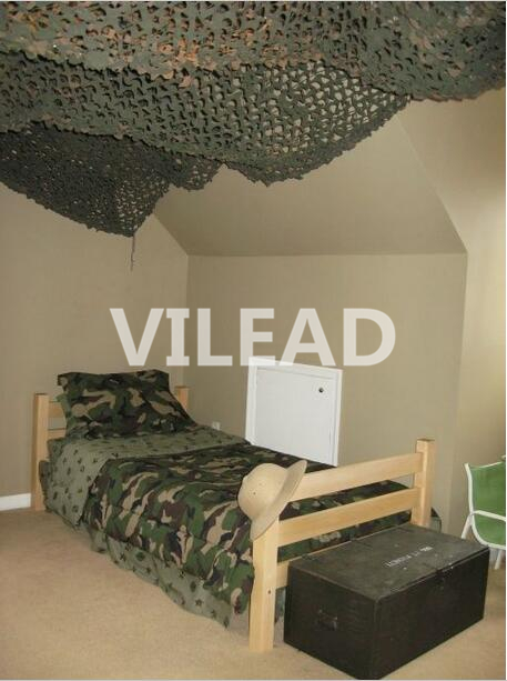 VILEAD 6M*10M Camouflage Netting Decoration Green Military Camo Netting Sun Shelter Camouflage Tarps for Outdoor Paintball Game цена 2017