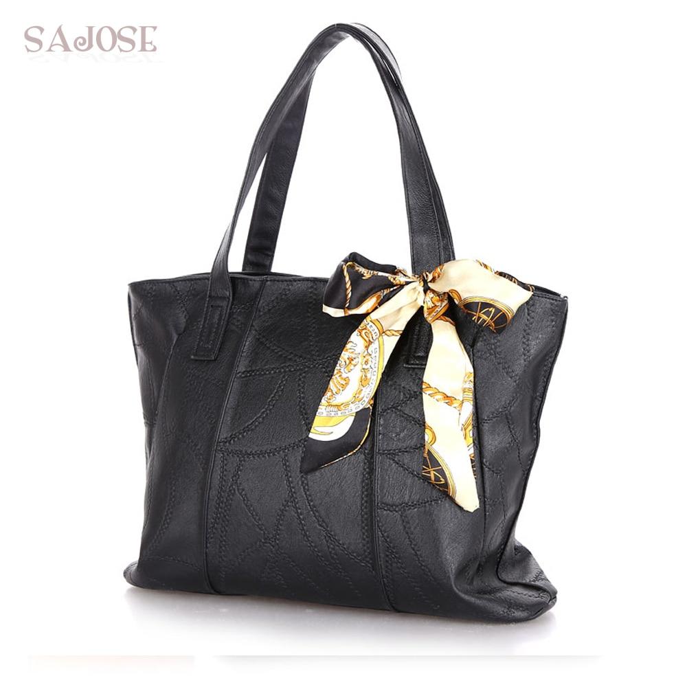 Damen Taschen PU Leder Mode Handtaschen Damen Schulter Messenger Tote - Handtaschen - Foto 2