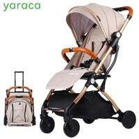 Легкий Детские коляски для путешествий Портативный складной коляски для новорожденных детская коляска тяга коляска сайт Kidstravel