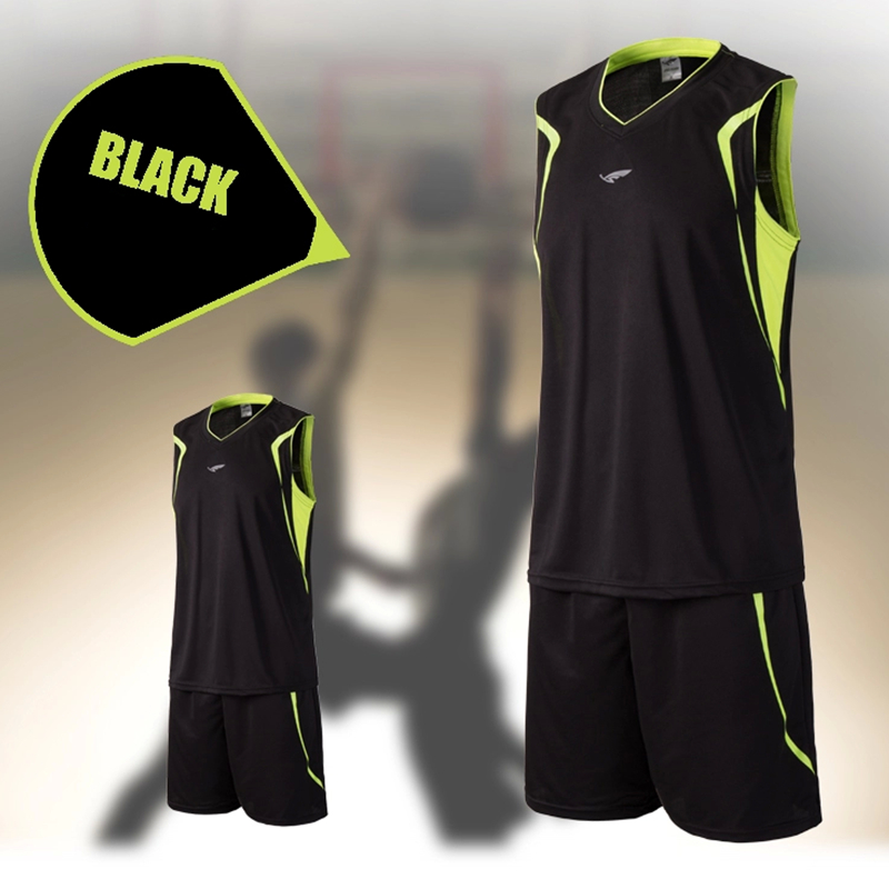 Polyester new brand men cheap basketball training Jersey sets blank college tracksuit sports throwback jerseys uniforms