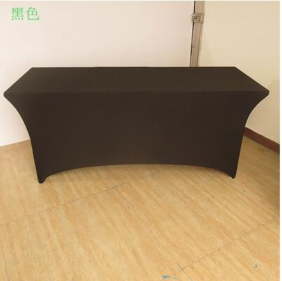 4ft 6ft 8ft Rectangular Table Cover Spandex Lycra Stretch Wedding