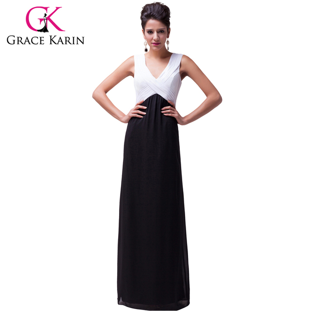 Black and White Special Occasion Dresses