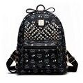 Камера & сумки старинные случайные заклепки ИСКУССТВЕННАЯ кожа сумки высокое качество new kids fashion женщины сцепления известный бренд рюкзаки