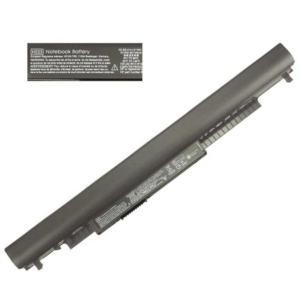 10.95V HS04 Battery For HP Pavilion 15-af087nw 15-af093ng 15-ac121dx 240 250 G4 807956-001 807957-001 HSTNN-LB6U HSTNN-LB6V HS03