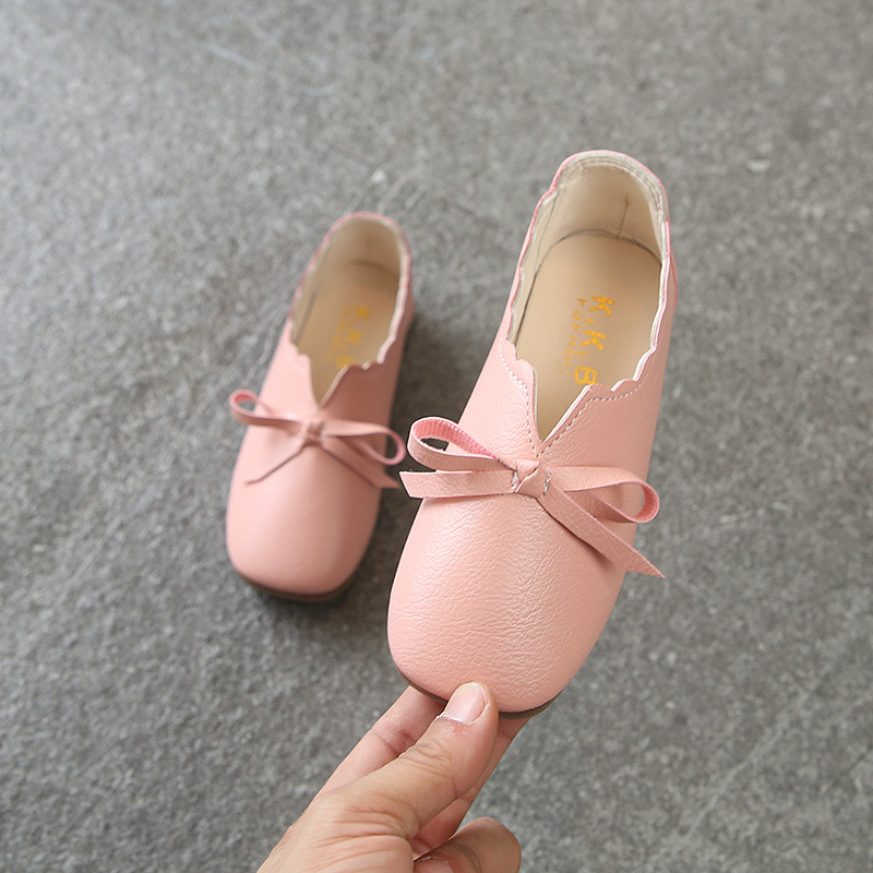 AFDSWG spring and autumn white artificial PU pink fashion shoes shoes kids girls party pink leather shoes ,princess shoes