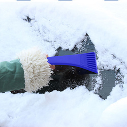 Durable Car Winter Ice Scraper Dropshipping Mini Portable Auto Snow Removal Shovel Defrosting Cleaner