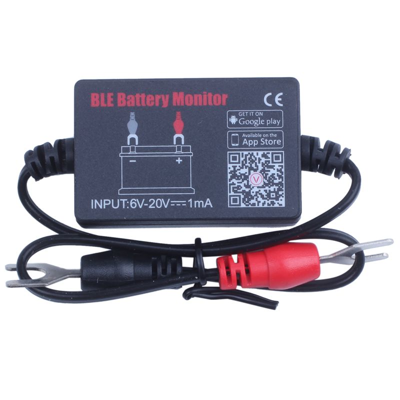 ELEG Automotive BM2 Wireless Car Battery Tester 12V Battery Load Tester Bluetooth 4.0 Battery Voltage, Charging and Cranking S