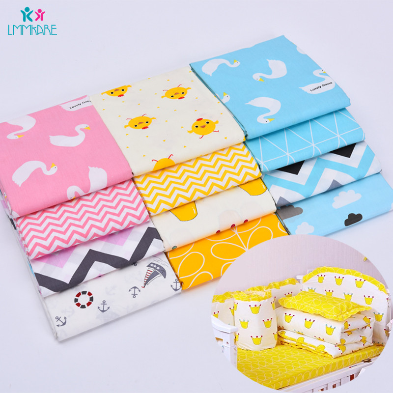 Newborn Cotton Baby Crib Sheet Breathable Soft Baby Infant Cover Sheets Bedding Blanket Cover Cartoon Single Comforter Cover