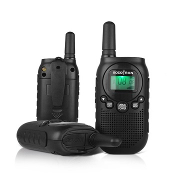 PMR446 Walkie Talkie 2pcs Mini Kids 2 way Radio 0.5W License Free UHF Portable radio Communicator VOX Rechargeable battery Gift
