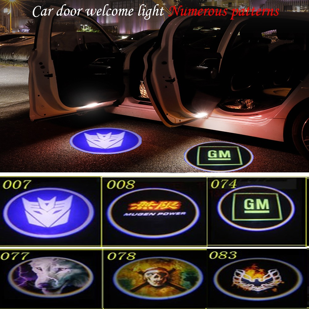 4x LED Logo Door Step Courtesy Welcome Lights For Subaru Legacy 2010--2018