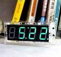 4 Бит Цифровой Трубки DIY kit Light control Промышленного управления версия часы DIY production suite singlechip Обратного Отсчета времени