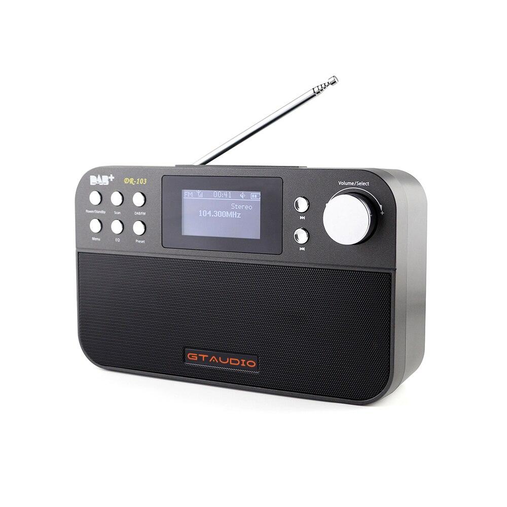 Radio Professional Gtmedia Dr-103b Dab-radio Stero Für Uk Eu Mit Bluetooth Eingebauten Lautsprecher Einfache Bedienung Elegant Im Geruch Unterhaltungselektronik