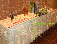 Специальные праздничные украшения свадебные принадлежности свадебный стол плинтус Добро пожаловать Шампанское башня подсвечник стол ска...
