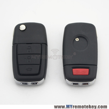 92213311 – 92252257 Remote flip car key for Holden VE Commodore 3 button with horn GM46LCK chip 434 mhz GM45 key blade remtekey