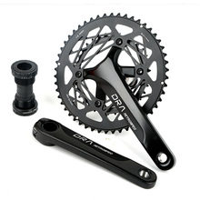 High Quailty Road Bicycle Crankset 34T -50T AL7075 Narrow Wide Hollow Chain Ring 22/20 Speed Shifting System