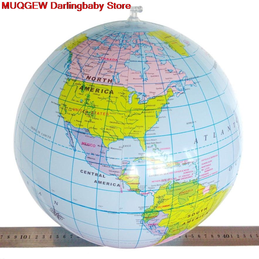 Big sale 40 cm inflatable world globe teach education geography toy 40 cm inflatable world globe teach education geography toy map balloon beach ball outdoor fun sports gumiabroncs Choice Image