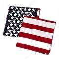 Unisex 1pcs American Flag Cotton Scarf New Fashion Unisex US Flag Scarves Bandanas Hip-hop Dance Travel Head Scarf