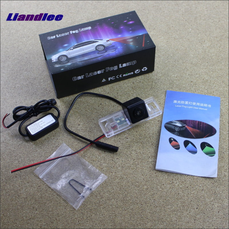 Liandlee Laser Anti Lamp Fog Lamps For Citroen Dispatch / Jumpy Outside The Car Warning Alert Light To Shoot The Chandeliers citroen jumpy ii 2007 carbon