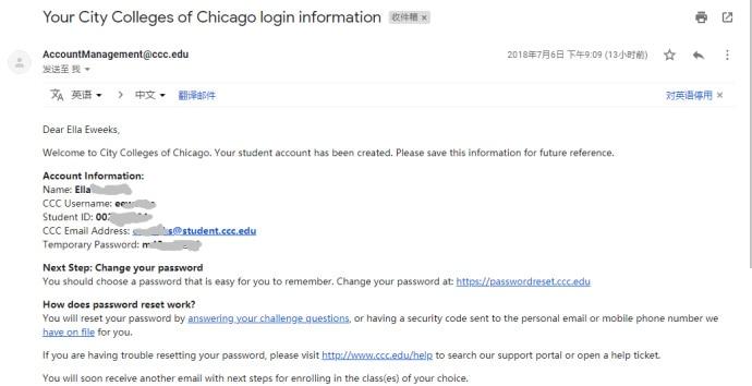 芝加哥城市学院edu教育邮箱申请