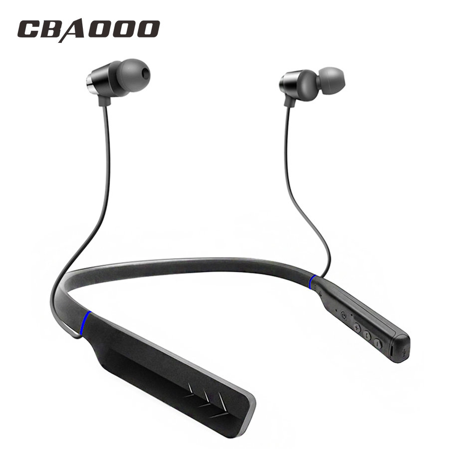 CBAOOO HWS660 Deep Bass Wireless Bluetooth Earphone Headphones With Mic Noise Cancelling Sports bluetooth Headsets For Phone