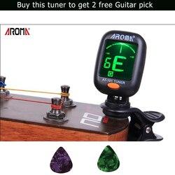 Арома AT-101 хроматический/гитара/бас/скрипка/тюнер укулеле точная настройка вибрацией