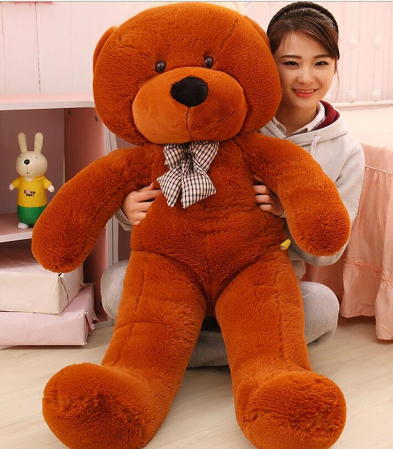 Kawaii Big Size Giant Teddy Bear Plush Toys Kids Toys Stuffed Ted Cheap Price Gifts for Kids Girlfriends Birthday Christmas