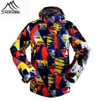 SAENSHING 남성 스키 자켓 방수 따뜻한 겨울 브랜드 스노우 코트 야외 스포츠 스키 스노우 보드 재킷 방풍