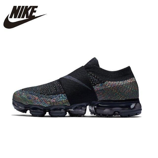 detailed look 60be5 636f2 Nike Air Vapormax Moc Lari Sepatu Bernapas Stabilitas Nyaman Dukungan  Olahraga Sneakers untuk Wanita Sepatu