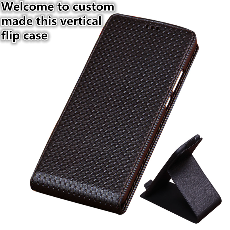 HY03 Genuine Leather Flip Case Cover For LG G4 Vertical flip Phone Up and Down Leather Cover phone Case