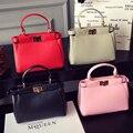 New Arrival Famous Brand Designer Leather Handbags Small Women Messenger Bag Solid Tote Crossbody Bag For Women SAC A MAIN Femme