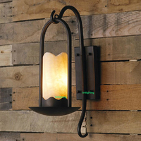 Industrial and Retro Sconces bar counter large Wall Mount Sconce country style glass wall lamp Edison bulb wall light led lamp