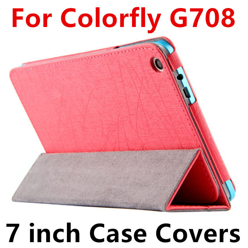 Case For Colorfly G708 3G Protective Smart cover Protector Leather Tablet PC For Colorful G708 3G PU Sleeve 8 inch Cases Covers case for cube i7 book protective smart cover protector leather tablet pc for cube iwork i7 stylus pu sleeve 10 6inch cases cover