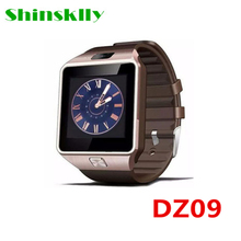 Shinsklly New Original Box DZ09 Smart Watch With Sleep Track Smartwatch Bluetooth SIM Card WristWatch for  IOS and Android Phone