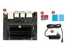 NVIDIA Jetson Nano комплект разработчика пакет ИИ разработка 64 ГБ Micro sd-карта для камеры 7 «ips дисплей 5 V/3A блок питания