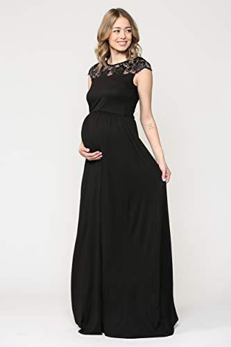 Robe de maternité pour femmes avec des robes de soirée en dentelle longue femme enceinte robes formelles pour femmes robes de fête et de mariage - 2