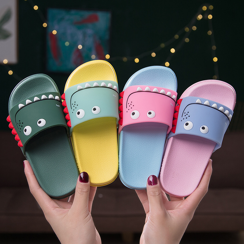 Mini Melissa Dinosaur Boys Girls Slippers 2019 Cartoon Sandals Children Jelly Sandals Kids Sandal Kids Shoes Melissa Flip Flop