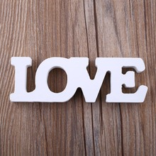 Wooden Letter Alphabet Word Weeding Party Decor LOVE Theme Home Decoration