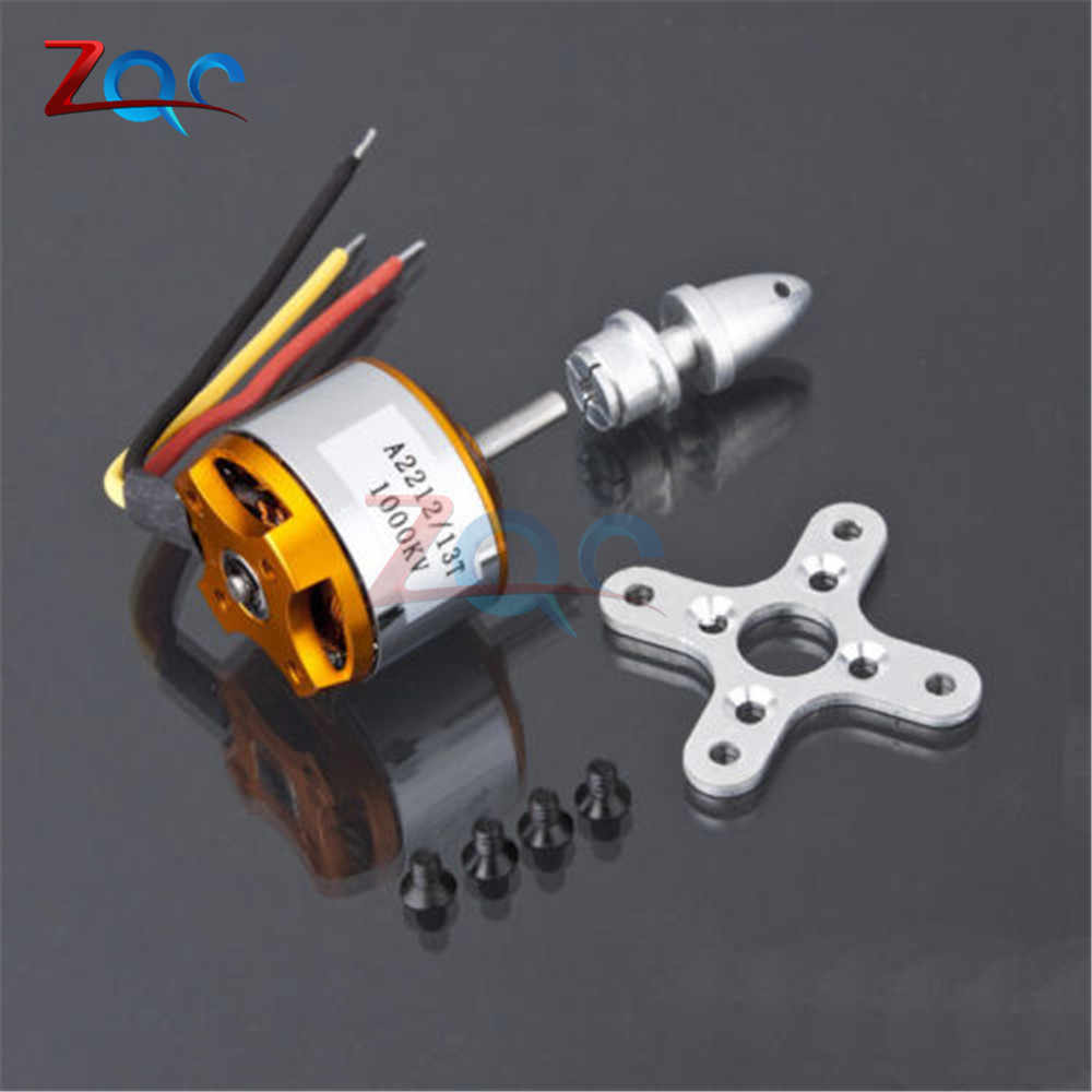 A2212 Brushless Motor 1000KV untuk RC Pesawat Pesawat Multi Helikopter Brushless To Outrun Motor