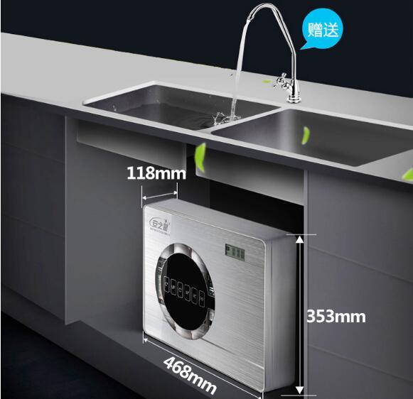 Уровень 6 фильтр прямой очиститель питьевой воды домашний водопроводной воды умный ультра-фильтрационный терминал очиститель воды AZX-08UF-C5
