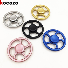 Circle Shape Hand Spinner Metal 2017 New Spinner Fidget Toy EDC Fidget Spinners Anti Stress Reliever And ADAD Hot Selling