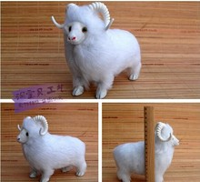 small sheep toy creative cute sheep doll white sheep doll gift about 20x10x17cm