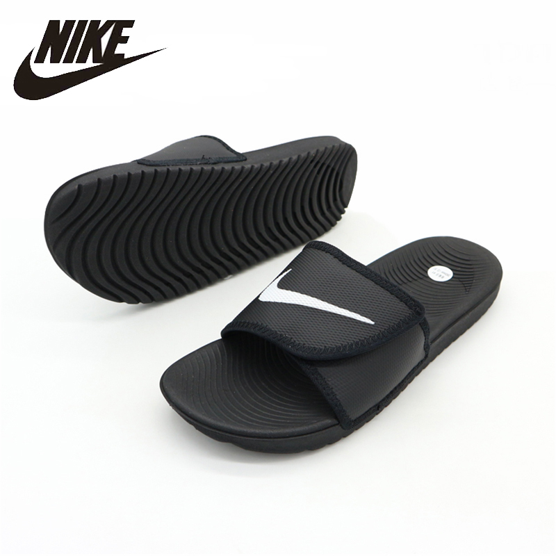 NIKE KAWA Beach & Outdoor Sandals Summer Stability Quick-Drying Anti-chlorine Sneakers For Men Shoes#834818-001
