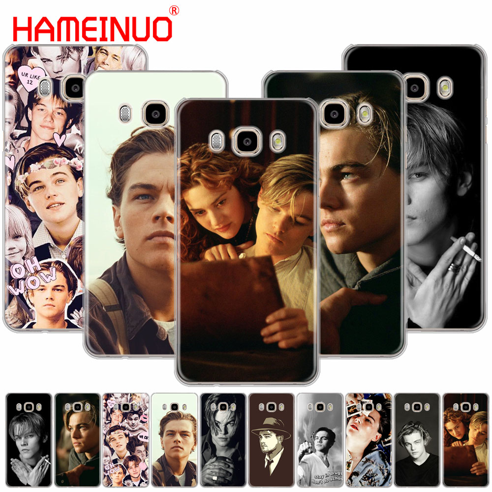 HAMEINUO Leonardo Dicaprio cover phone case for Samsung Galaxy J1 J2 J3 J5 J7 MINI ACE 2016 2015 prime image