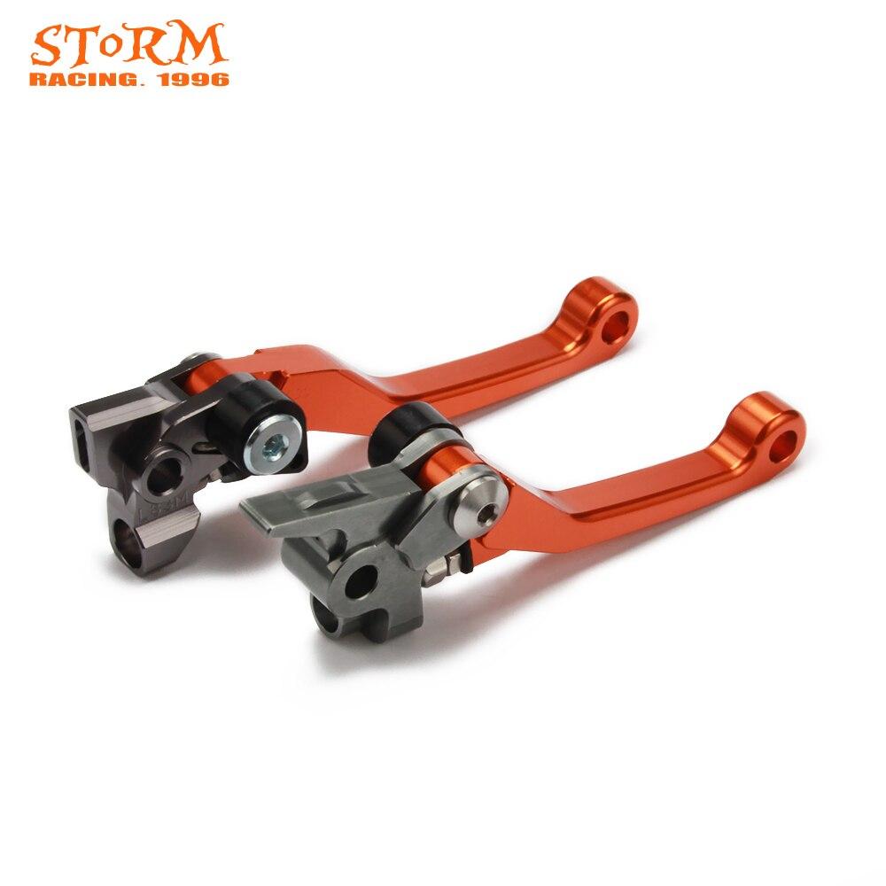 Pivot Dirt Foldable Brake Clutch Levers For SX XC EXC EXCF XCFW XCW SXF XCF SXR XCRW EXCR 125 144 150 200 250 300 350 450 500