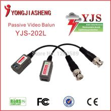 Twisted Single Channel Passive Video Balun Transceiver CCTV DVR camera BNC UTP Security Twisted Passive cctv Video Balun 10PCS